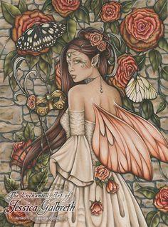 Vintage Rose by Jessica Galbreth