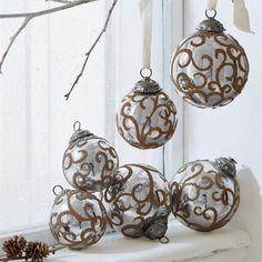 Weihnachtsschmuck 6er-Set Servane Jetzt bestellen unter: https://moebel.ladendirekt.de/weihnachten/christbaumschmuck/?uid=5d566b95-91b1-5e73-a63f-2383cef13a2a&utm_source=pinterest&utm_medium=pin&utm_campaign=boards #weihnachten #christbaumschmuck