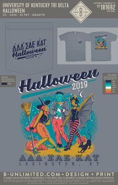 Tri Delta x Sigma Alpha Epsilon x Kappa Alpha Theta Halloween Mixer Shirt | Fraternity Event | Greek Event #ddd #tridelta #sigmaalphaepsilon #sae #kappaalphatheta #kat #halloween