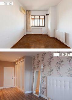 decoración de interiores antes y después reforma integral