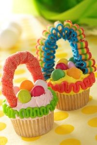 Easy Easter cupcake crafts you can make with your kids!