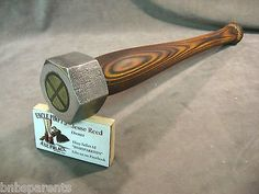 blacksmith Biker coconut fish hammer tool custom JESSE REED baseball bat handle in Collectibles, Tools, Hardware & Locks, Tools | eBay