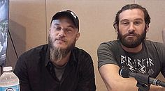 Travis Fimmel and Clive Standen Interview - Vikings Season 3