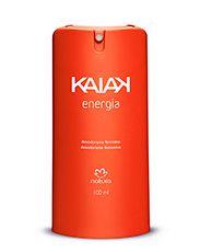 Com Fragrância floral refrescante, o Kaiak Energia acompanha a mulher em todos os momentos do seu dia oferecendo perfumação através de notas de musk, sândalo e âmbar que foram reforçadas e combinadas trazendo maior intensidade para a criação. http://rede.natura.net/espaco/jaquebaptista/desodorante-spray-feminino-kaiak-energia-100-ml-52206