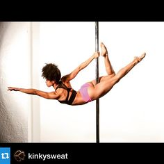 This superwoman is magical. Repost @kinkysweat ・・・
