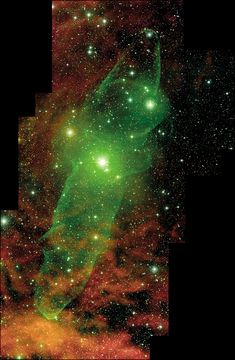 "just—space: ""A Giant Squid Nebula """