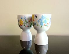 Heinrich Germany Primavera Double Egg Cups by Modernismus on Etsy, $18.00