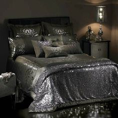 Dominic Damask Print Rococo Versailles Bed Cover Duvets Pillow Set King Double