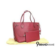 2284f2386e4d Used Louis Vuitton Neverfull PM EPI Red - Size PM สนใจสอบถามได้นะคะ Tel  :0632491456ผึ้ง 0991564992แป้ง Official Line:@9brandname Location: Paradise  Park ...