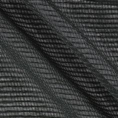 Eroica Check It Open Weave Sheer Graphite from @fabricdotcom  This open weave check design sheer fabric is perfect for window treatments, swags, curtains and table top.