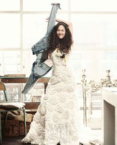 Park Min-young on Vogue Girl
