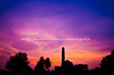 Silhouette Mosque | Sunset
