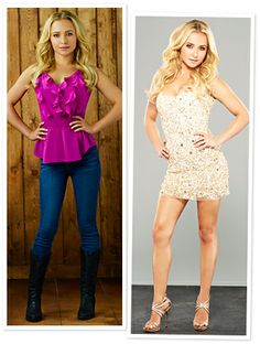 <i>Nashville'</i>s Hayden Panettiere on the Challanges of Styling Sparkly Mini-Dresses Country Girl Outfits, Country Fashion, Country Girls, Short Girl Fashion, Fashion For Petite Women, Hayden Panettiere, Sparkly Mini Dress, Gorgeous Blonde, Foto Pose