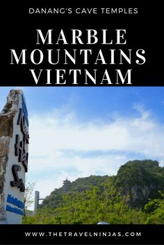 Read about Marble Mountains Vietnam – Cave Temples, Mountaintop Pagodas & 360 ocean views.They're an important pilgrimage location for the Vietnamese people via @thetravelninjas