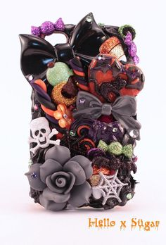 Spooky Halloween Themed  #decoden Iphone 4/4S Case  by HELLOxSUGAR, $55.00