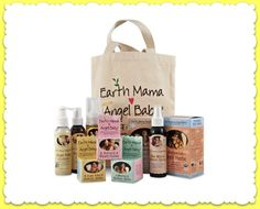 Zero-toxin #madeinusa products for baby and Mom from @Earth Mama Angel Baby @EarthMamaHQ