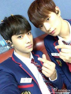 160715 Inseong and Seungjun's Weibo In SeongSeung Jun