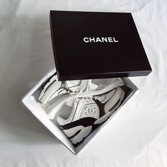 My new Chanel sneakers <3  https://instagram.com/aprilrpengilly/