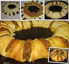 Taco Ring – Easy and amazing! – The FAMOUS Recipes