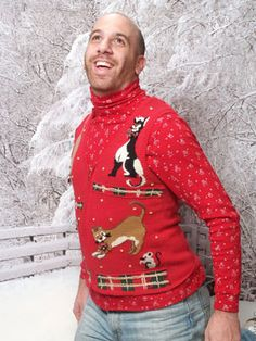 The Rock Your Ugly Christmas Sweater Guy