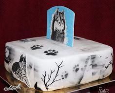 Cake husky
