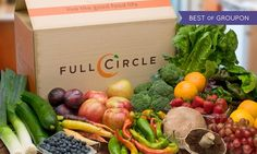 Full Circle delivers organic, chemical-free produce from local, sustainable farms to homes