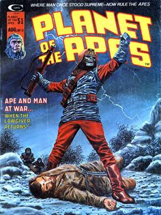 Planet of the Apes comic.
