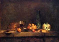 The Jar of Olives - Jean-Baptiste-Simeon Chardin