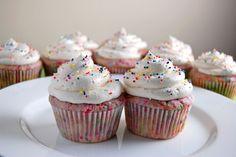 Gluten Free Funfetti Cupcakes   emthebaker.com