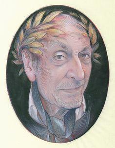 Milton Glaser by Stephen Alcorn