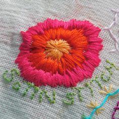 HGK handmade TAST #13 Satin Stitch, via Flickr.