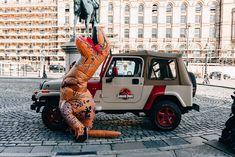 A Jurassic park car for your wedding! What a fun wedding idea. Shot in Liverpool, UK Pool Wedding, Geek Wedding, Wedding Kiss, Wedding Cards, Best Photography Blogs, Wedding Photography Inspiration, Amazing Photography, Wedding Inspiration, Jurassic Park Car