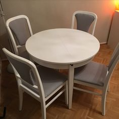 aus alt mach neu diy k chenst hle neu beziehen wohnen pinterest aus alt mach neu. Black Bedroom Furniture Sets. Home Design Ideas