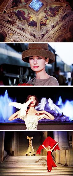 Funny Face-Audrey Hepburn...I feel like her, wanting to go to Paris and explore the world