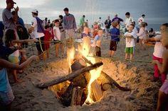 Dewey Beach Bonfire