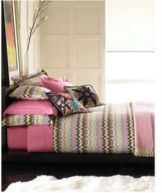 obsessed with Missoni home right now!