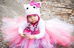 DRESS ONLY Pinks Hello Kitty Baby and Little by HandpickedHandmade, $16.00 Also available in Crochet Hat and Tutu Set for Party Outfit, Dress up fun, Halloween Costume or just plain fun!! Also available at a hat and dress set from Handmade & Handpicked Boutique Baby Girls, Teen, and Womens tutu sets available.