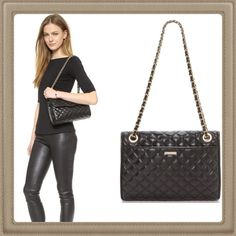 """🎉FINAL SALE🎉Authentic RM Quilted Affair 😍💖💕💕 Quilted leather puts a luxurious finish on this Rebecca Minkoff bag. Interwoven leather traces the polished chain strap, and the flap top opens to a logo-lined interior with a single pocket. magnetic flap closure 16.25"""" shoulder drop 8.5"""" high 11"""" wide Cowhide leather Depth 3.5in / 9cm. Very Beautiful and Classy 😍💖💕💕💕🚫trade 🚫lowballs ‼️️PRICE FIRM‼️🚫offers lowest price already thank you so much 😍💕 Rebecca Minkoff Bags Shoulder Bags"""