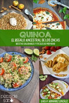 15 Quick and easy recipes for dinner that even fussy little eaters will enjoy. Delicious, and nutritious, with only healthy ingredients. Veggie Recipes, Vegetarian Recipes, Healthy Recipes, Easy Recipes, Healthy Cooking, Healthy Eating, Cooking Recipes, Superfood, Peruvian Recipes