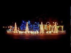 EPIC DUBSTEP CHRISTMAS LIGHTS - The Cadger Dubstep Christmas House 2012