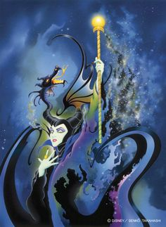 Maleficent…so excited for the movie!
