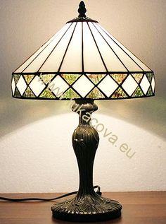 Tiffany lampa - noha ART NOUVEAU (311), v. 18cm