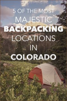 RV And Camping. Ideas To Help You Plan A Camping Adventure To Remember. Camping can be amazing. You can learn a lot about yourself when you camp, and it allows you to appreciate nature more. There are cheerful camp fires and hi Camping And Hiking, Colorado Backpacking, Camping List, Camping Places, Camping Spots, Backpacking Tips, Hiking Gear, Outdoor Camping, Camping Gear
