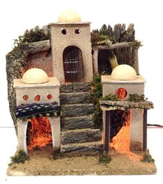 Christmas Nativity, School Projects, Ideas Para, Tiny House, December, Arts And Crafts, Portal, Painting, World