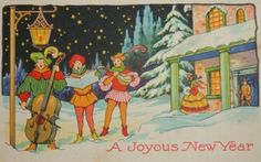 happy new year art quotes. chinese new year art activities . Happy New Year Quotes, Happy New Year Wishes, Quotes About New Year, New Year's Crafts, Arts And Crafts Projects, Vintage Postcards, Vintage Images, Vintage Clip, Happy New Year Animation