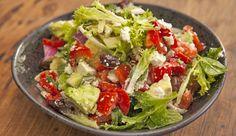 Greek Avocado Salad Easy Healthy Recipes, Healthy Snacks, Easy Meals, Healthy Eating, Salad Dishes, Salads, Best Chef, Avocado Salad, Fabulous Foods