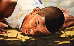 Gallery For > African Paintings Of Men