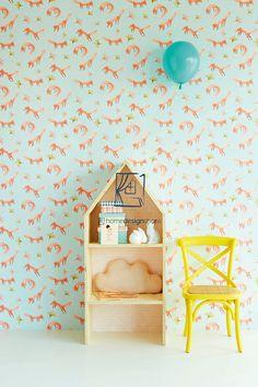 Behang van Eijffinger - Eijffinger Tout Petit 354091. Afmeting rol 0,52m x 10m. Eijffinger vliesbehang is eenvoudig op de muur aan te brengen. Een.