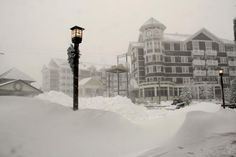 Check out this picture from Snowshoe Mountain Resort in Snowshoe, West Virginia.