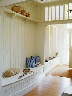 Mudroom envy!  This space is amazing!